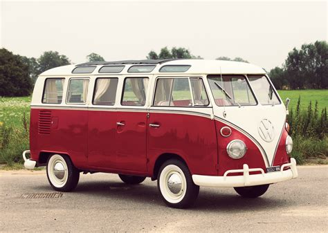 21 Window Deluxe Volkswagen Type 2
