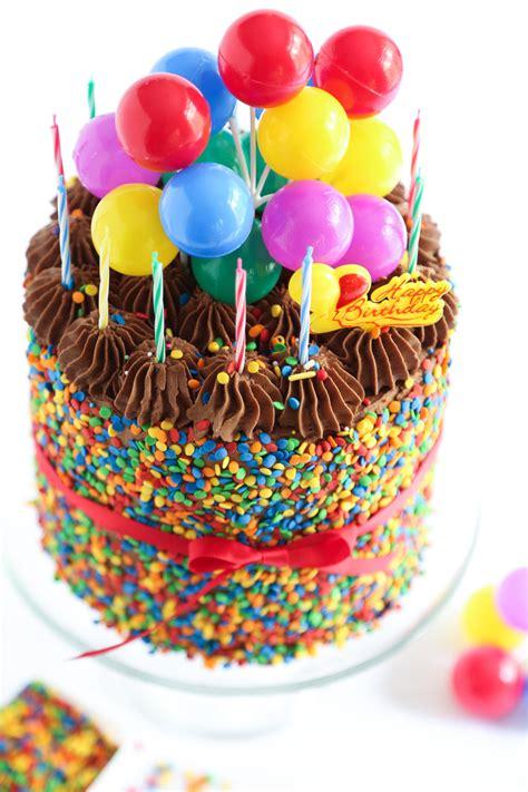 kuchen geburtstag the birthday cake sprinkle bakes