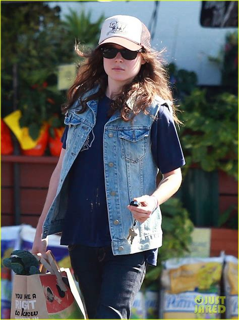 ellen page grocery shops after caution tape day photo 2926593 ellen page - When Does Ellen Tape Her 12 Days Of Giveaways