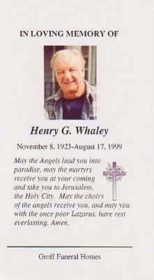 hank whaley funeral home handout fold3