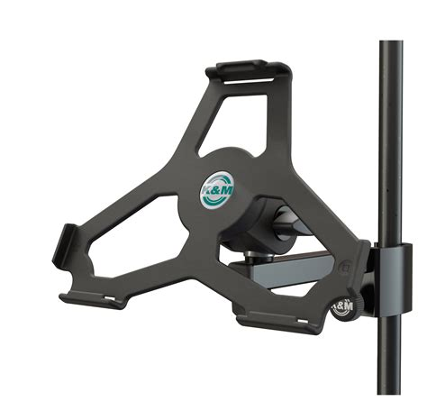 K M 19724 Ipad Air Mic Stand And Light Stand Mount