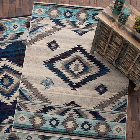 southwest rains bone rug