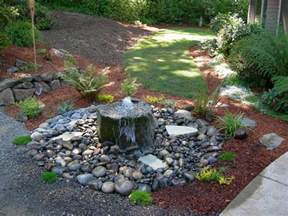Diy Fire Pit Kit by Small Bubbling Rock Water Feature And Plantings