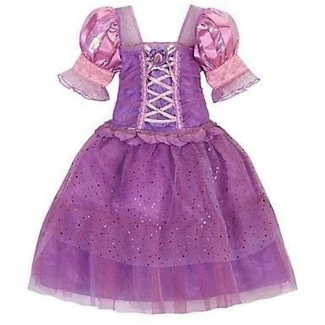 Dress Disney Murmer Dress Princess disney store tangled rapunzel costume dress up pink princess gown new ebay