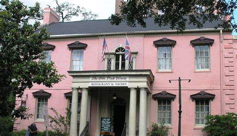 File The Olde Pink House In Savannah Georgia Jpg Wikimedia Commons
