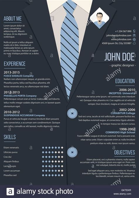 Cool Resume by Cool Resume Cv Template With Business Suit Background
