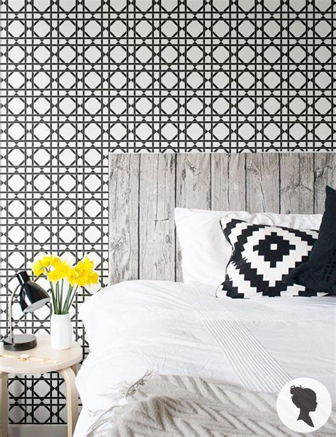 peel and stick removable wallpaper peel and stick lattice pattern removable wallpaper by livettes