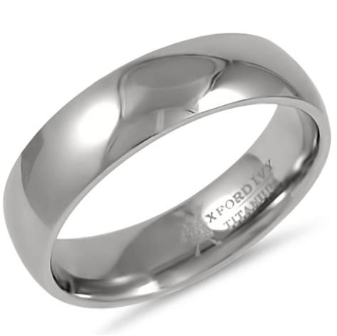 mens comfort fit wedding rings 6mm mens comfort fit titanium wedding band available