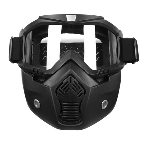 Masker Goggle scorpion stealth goggle with detachable mask