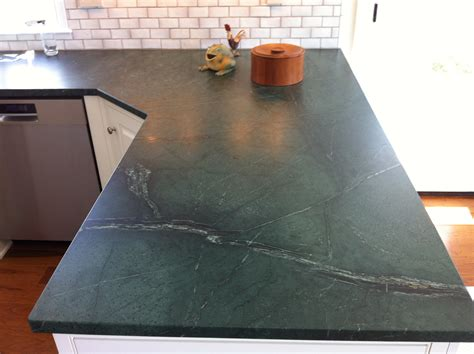 Kitchen Island Counter by Soapstone Counters With A Wood Counter Top Soapstone Werks