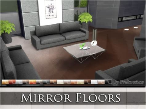 the sims resource mirror floors by praline sims sims 4