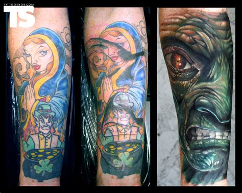 how to cover up a tattoo on your wrist the best cover ups of the worst tattoos