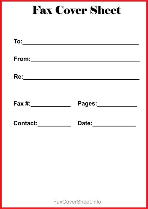 12 free fax cover sheet for microsoft office google docs adobe pdf