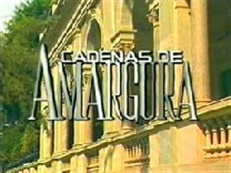 cadenas de amargura reparto niñas telenovelas