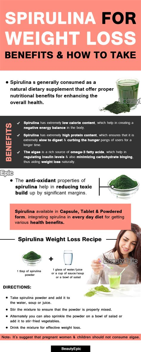 best way to take spirulina how to take spirulina for weight loss