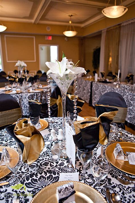 black white and gold centerpieces for wedding bernadine s rocker gene simmons married his longterm shannon tweed last