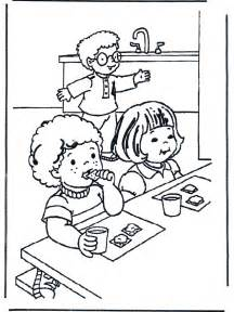 Breakfast Coloring Page With Peter Pages sketch template