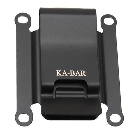 ka bar belt clip metal belt clip for ka bar tdi knives 617717814808
