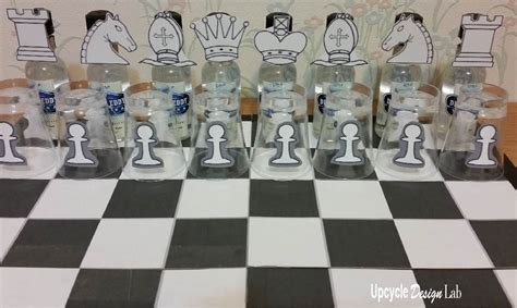 design game for chess upcycled chess board drinking game upcycle design lab