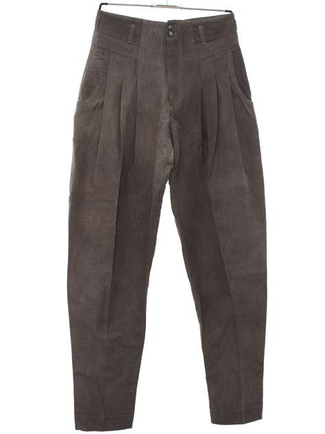 Bulk Wholesale Home Decor Eighties Z Cavaricci Pants 80s Z Cavaricci Mens Grey