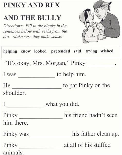 printable bullying quiz printables anti bullying worksheets kigose thousands of