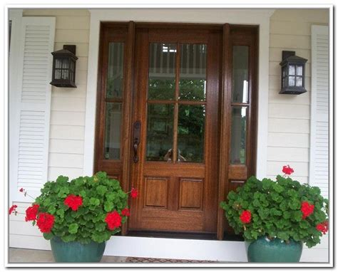 Wood Front Doors With Glass Wooden Front Doors With Glass Panels Doors Glass Panels Glasses And Front Doors