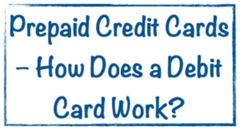 How Does A Visa Gift Card Work - prepaid credit cards how does a debit card work