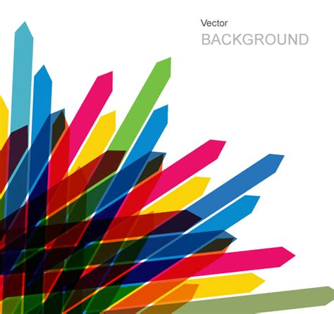 colorful arrow wallpaper vector abstract background created with colorful arrows