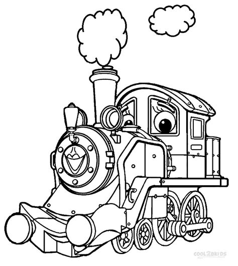 Printable Chuggington Coloring Pages For Kids Cool2bkids Chuggington Coloring Pages