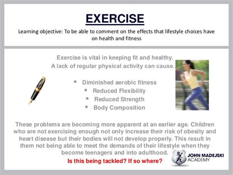 8 Negative Effects Of Exercise by The Effect Of Lifestyle Choices