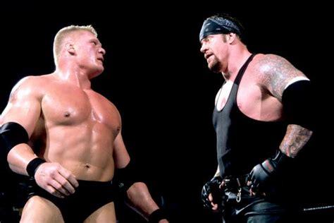 undertaker vs brock lesnar biker chain match wwe no brock lesnar vs the undertaker at no mercy 2003 archives
