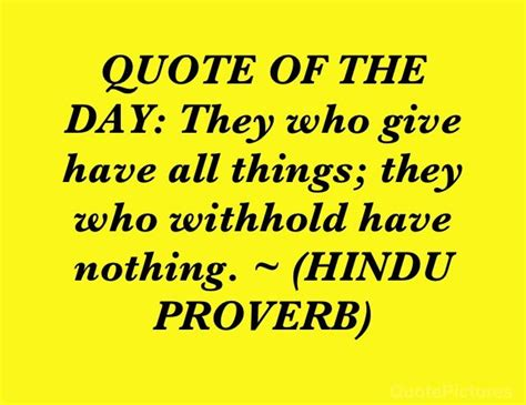 quote   day   give      withhold   hindu
