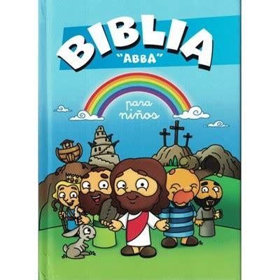 pequena biblia para bebes 0825456002 biblia abba para ni 241 os 9789460826996 clc editorial clc panama