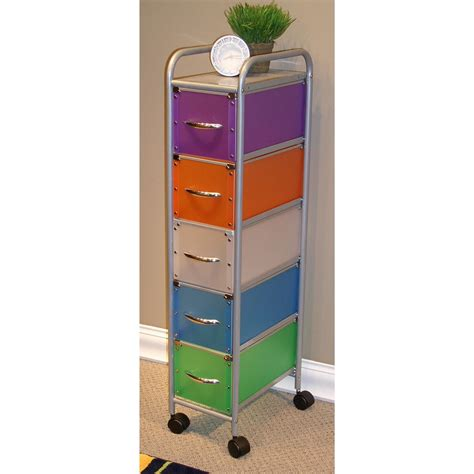 Multi Utility Storage Drawers 4d Concepts Multi Color 6 Drawer Utility Chest