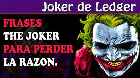 Imagenes De El Joker Con Fraces | frases celebres del joker youtube
