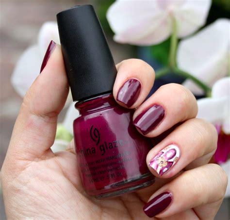 imagenes de uñas pintadas con colores pasteles 15 ideas de u 241 as decoradas en colores burdeos mujer chic