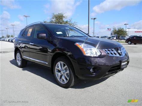 black nissan rogue 2012 black amethyst 2012 nissan rogue sl exterior photo