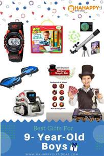 best gifts for a 9 year boy educational