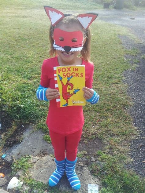 diy fox in socks costume 17 best images about dressups on inspector