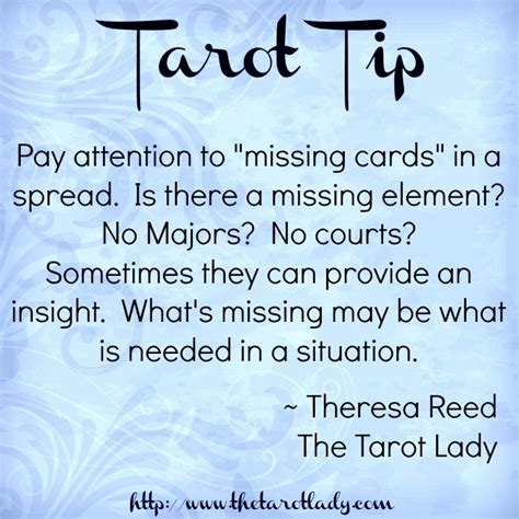 8 Ways To Bring Attention To A Cause by Tarot Tip 102 8 14 Pay Attention To Quot Missing Cards Quot In A