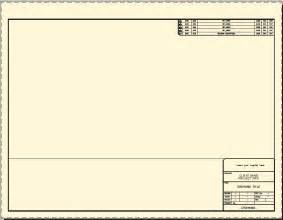 Autocad Title Block Template by Title Blocks Cad Intentions