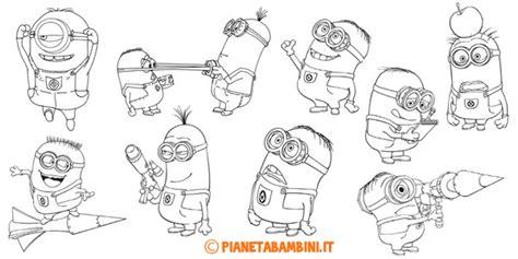 30 disegni dei minions da colorare pianetabambini it 30 disegni dei minions da colorare disegni da colorare