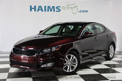 Used Kia Optima Ex 2013 Used Kia Optima 4dr Sedan Ex At Haims Motors