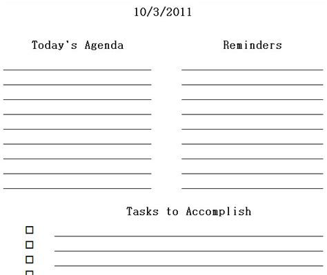 printable daily planner for excel free excel printable daily calendar templates calendar
