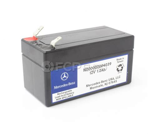 mercedes auxiliary battery mercedes auxiliary battery genuine mercedes 000000004039