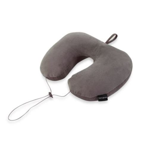 Samsonite 3 In 1 Microbead Neck Pillow by Buy Neck Travel Pillows From Bed Bath Beyond