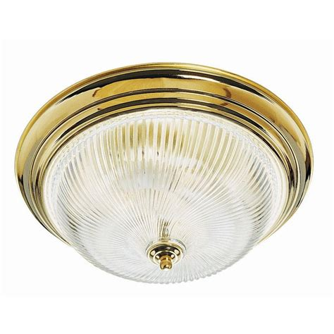 Brass Ceiling Light Fixtures Philips Embarcadero 3 Light Sorrel Bronze Ceiling Fixture F131920 The Home Depot