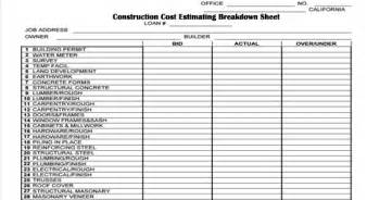 residential construction cost breakdown