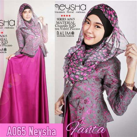Set Batwing Brukat balimo neysha chantilly a065 blazer jaguard dress satin