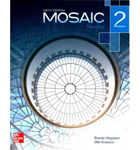 mosaic level 2 reading student book brenda wegmann 9780077595128